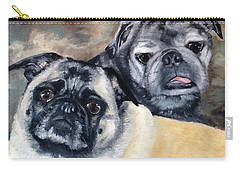 Jack And Bella Carry-all Pouch by Diane Daigle