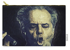 Jack Nicholson 2 Carry-all Pouch by Semih Yurdabak
