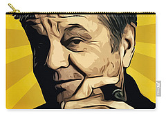 Jack Nicholson 3 Carry-all Pouch by Semih Yurdabak