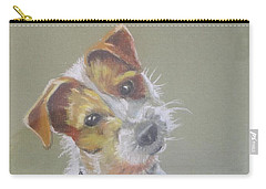 Jack Russell Watching You Carry-all Pouch