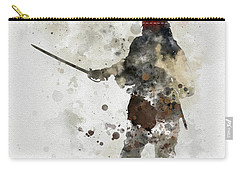Jack Sparrow Carry-all Pouch by Rebecca Jenkins