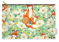 Jackals Carry-all Pouch by Uma Gokhale