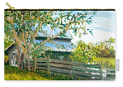 Carry-all Pouch featuring the painting Jack's Place by Jim Phillips