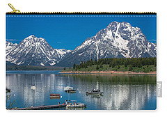 Jackson Lake Lodge Carry-all Pouch