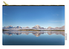 Carry-all Pouch featuring the photograph Jackson Lake by Mary Hone