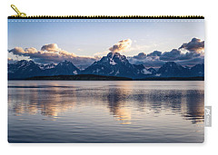 Jackson Lake Carry-all Pouch by Serge Skiba