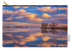 Carry-all Pouch featuring the photograph Jackson Lake Sunset by Darren White
