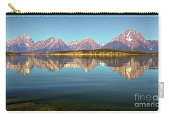 Jackson Lake Tetons Refection Carry-all Pouch