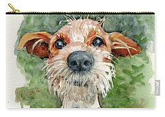 Carry-all Pouch featuring the painting Jackson by Lora Serra