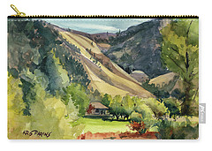 Carry-all Pouch featuring the painting Jackson Solitude by Kris Parins