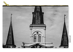 Jackson Square - Monochrome Carry-all Pouch