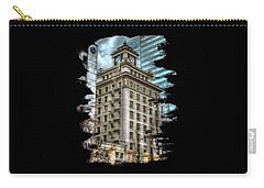 Jackson Tower Portland Oregon Carry-all Pouch by Thom Zehrfeld