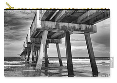 Jacksonville Beach Florida Usa Pier Carry-all Pouch