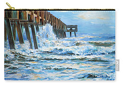 Jacksonville Beach Pier Carry-all Pouch