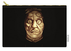 Jacob Marley Carry-all Pouch by Fred Larucci