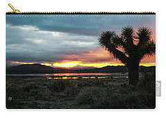 Jacob Tree Sunset - El Mirage Carry-all Pouch