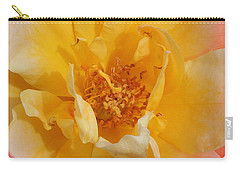 Carry-all Pouch featuring the photograph Jacob's Bands Of Color by Marna Edwards Flavell