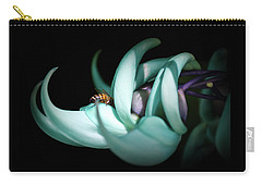 Jade Carry-all Pouch by Laura DAddona