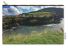 Jagged Coast Of Terceira Carry-all Pouch by Kelly Hazel