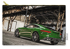 Jaguar F-type - British Racing Green - Rear View Carry-all Pouch
