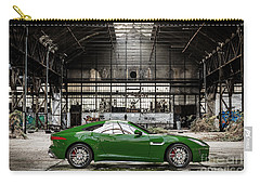 Jaguar F-type - British Racing Green - Side View Carry-all Pouch