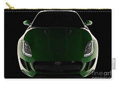 Jaguar F-type - Front View Carry-all Pouch