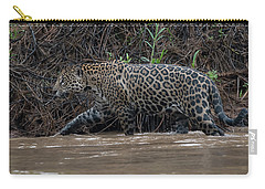 Jaguar In River Carry-all Pouch