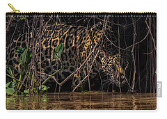 Jaguar In Vines Carry-all Pouch