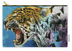 Jaguar Carry-all Pouch by Michael Creese