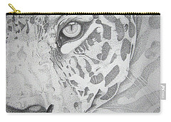 Jaguar Pointillism Carry-all Pouch