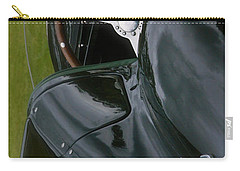 Carry-all Pouch featuring the photograph Jaguar Racing Car Smart Phone Case by John Colley