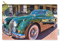 Carry-all Pouch featuring the photograph Jaguar Xk Classic by Dan McManus