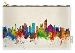 Jakarta Skyline Indonesia Bombay Carry-all Pouch