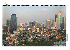Jakarta Urban Skyline In Indonesia Carry-all Pouch