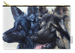 Jake And Shiloh Carry-all Pouch by Diane Daigle