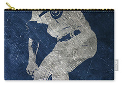 Jake Arrieta Chicago Cubs Art Carry-all Pouch