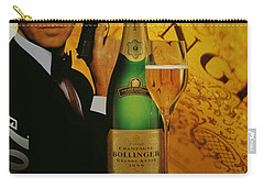James Bond Ad 1995 Carry-all Pouch by Andrew Fare