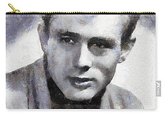 James Dean By Sarah Kirk Carry-all Pouch