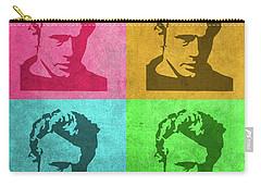 James Dean Vintage Pop Art Carry-all Pouch