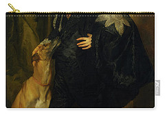 Carry-all Pouch featuring the painting James Stuart - Duke Of Richmond And Lennox                       by Anthony Van Dyck
