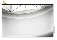 James Watrous Gallery Sign Below The Glass Dome Of The Overture Center Carry-all Pouch