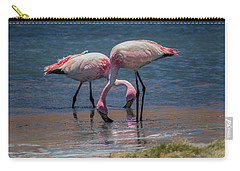 James's Flamingos, Salar De Uyuni, Bolivia Carry-all Pouch