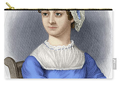 Carry-all Pouch featuring the photograph Jane Austen by Granger