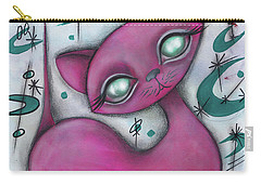 Jane Cat Carry-all Pouch by Abril Andrade Griffith