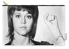 Jane Fonda Mug Shot Vertical Carry-all Pouch