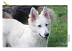 Janie As A Pup Carry-all Pouch