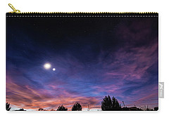 January 31, 2016 Sunset Carry-all Pouch by Karen Slagle