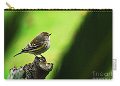 Carry-all Pouch featuring the photograph January Migration by Debby Pueschel