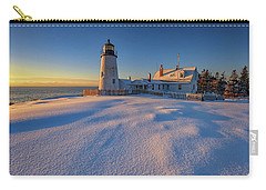 January Morn At Pemaquid Point Carry-all Pouch