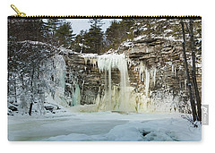 January Morning At Awosting Falls Carry-all Pouch